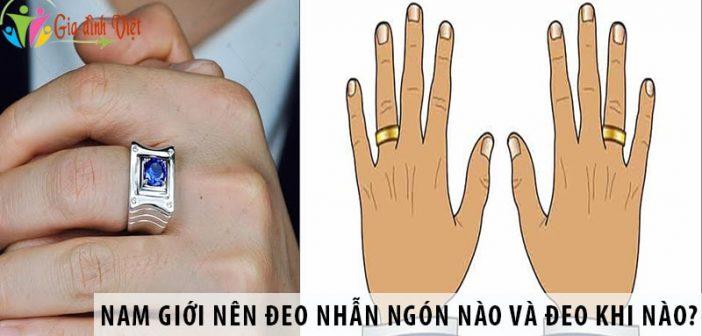 Nam giới nên đeo nhẫn ngón nào và đeo khi nào?