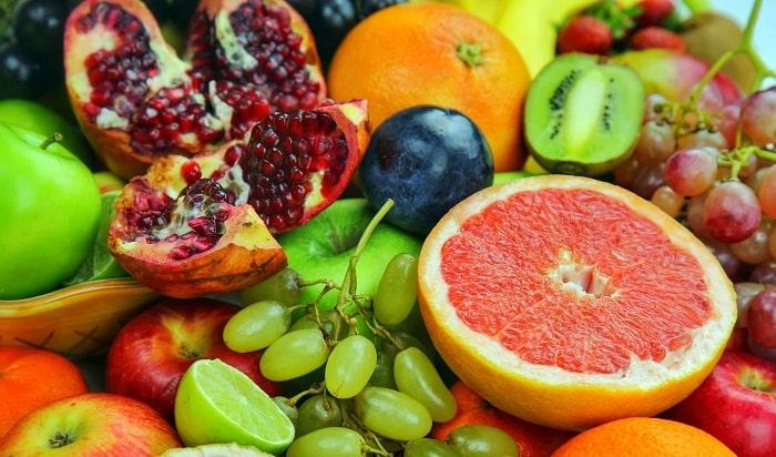 Khi bị mụn nên ăn nhiều trái cây