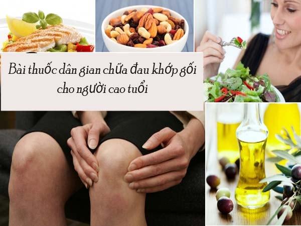 Một số bài thuốc dân gian chữa đau khớp gối cho người cao tuổi 1