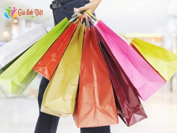 Các dấu hiệu nghiện mua sắm
