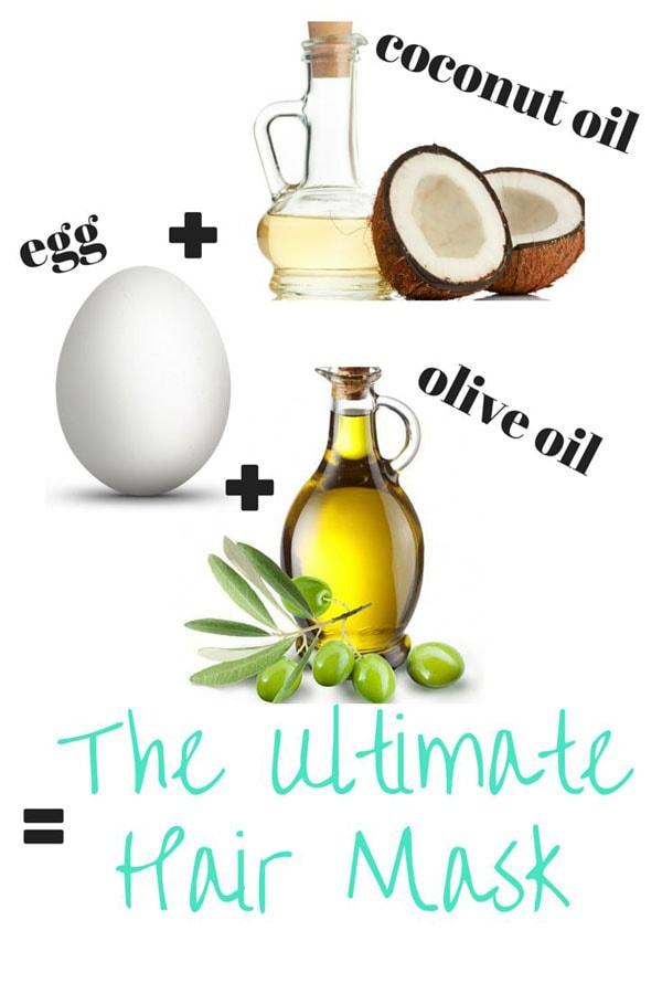 Mặt nạ chăm sóc da không bị mụn bằng dầu dừa trứng gà