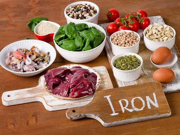 Bổ sung chất sắt giúp tăng cường hệ miễn dịch