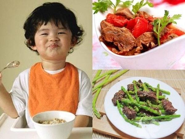 Đảm bảo dinh dưỡng đầy đủ trong các bữa sáng cho bé