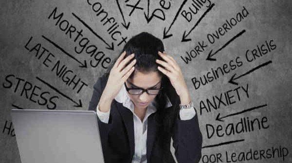 dấu hiệu của stress nặng