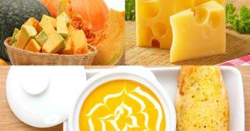 Cách nấu súp bí đỏ phô mai