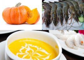 Cách nấu súp bí đỏ tôm tươi chỉ trong 30 phút