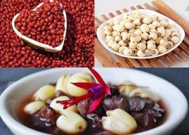 Cách nấu chè đậu đỏ hạt sen nhanh nhừ, mau mềm