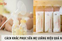 Cách khắc phục sữa mẹ loãng hiệu quả nhất?