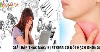 Giải đáp thắc mắc: Bị stress có nổi hạch không?
