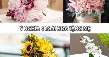 Khám phá ý nghĩa 4 loài hoa tặng mẹ