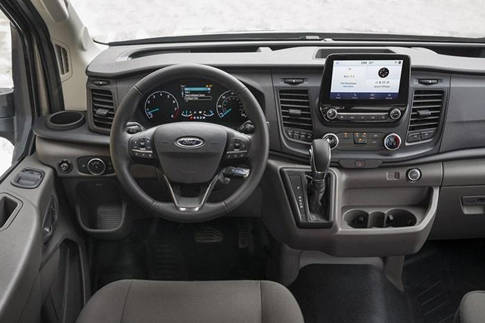 Chế độ vận hành của Ford Transit