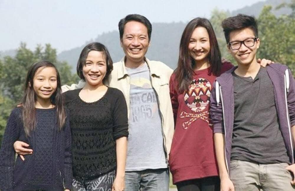 Gia đình ca sĩ Mỹ Linh và Anh Quân