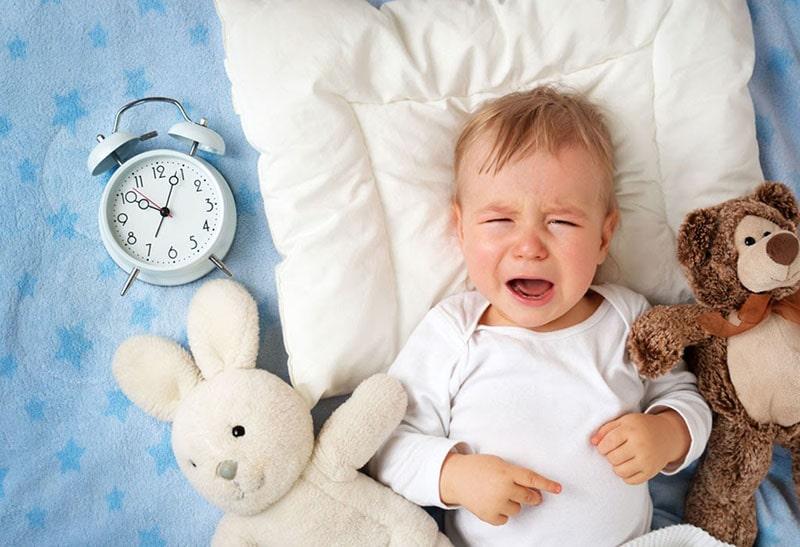 Hiện tượng trẻ sơ sinh khóc đêm thường khiến cho cha me bối rối