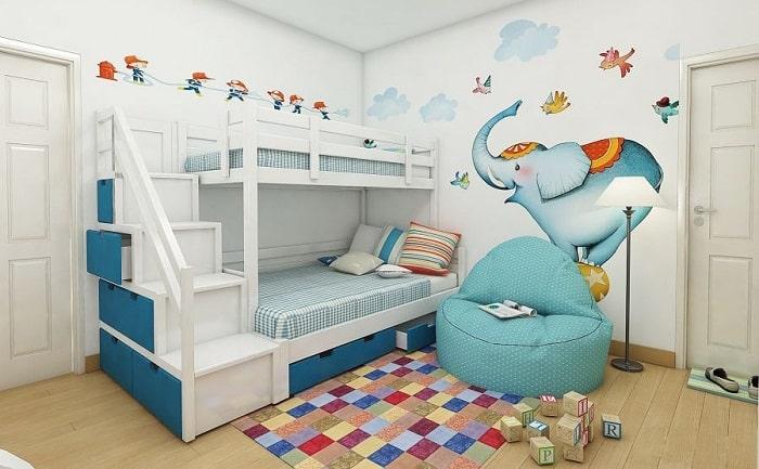 Sản phẩm giường thông minh mang đến cho bạn và bé nhiều tính năng nổi bật