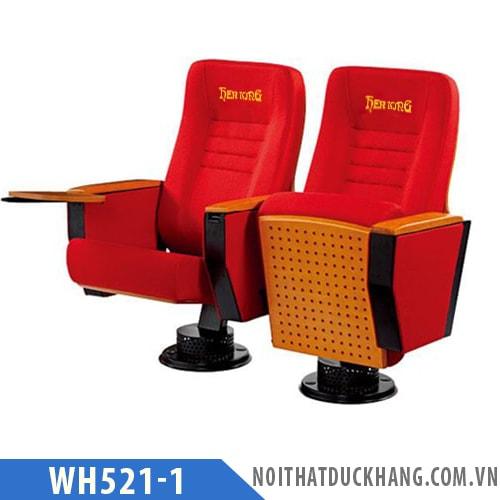 Ghế hội trường WH521-1 chân trụ tròn bám sàn