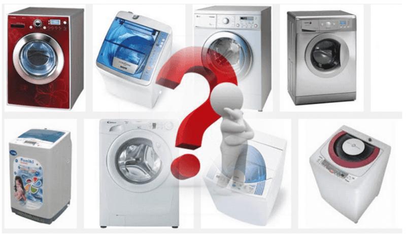 Hãy suy nghĩ kỹ về nhu cầu sử dụng máy giặt trước khi mua