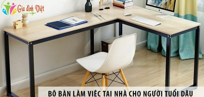 Mua bộ bàn làm việc tại nhà ở Hà Nội cho người tuổi Dậu