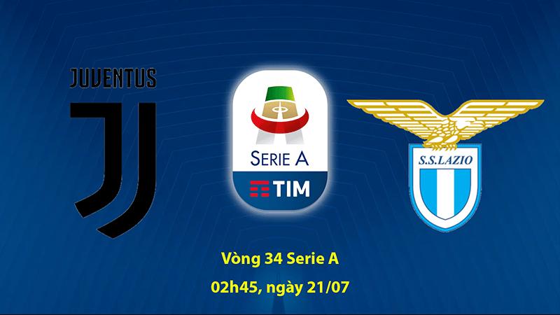 Nhận định Phong độ gần đây của Juventus vs Lazio, 02h45 ngày 21/7