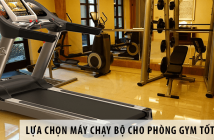 Lựa chọn máy chạy bộ cho phòng gym tốt nhất 9