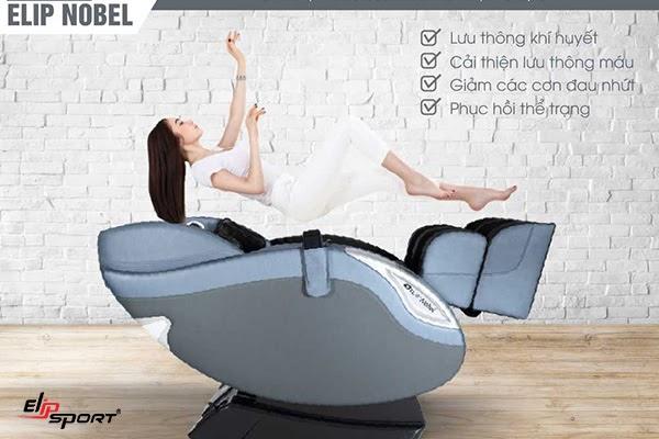 Ghế massage không trọng lực ELIP Nobel