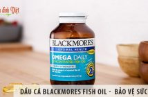 Dầu cá Blackmores Fish Oil - Con đường dẫn đến sức khỏe tốt
