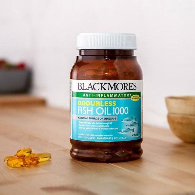 Dầu cá Blackmores Fish Oil