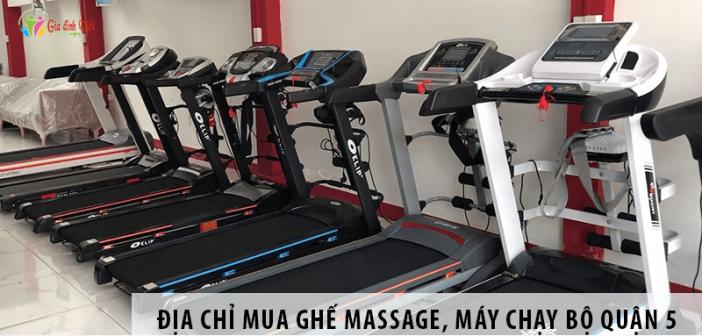 Địa Chỉ Mua Ghế Massage, Máy Chạy Bộ Trên Đường Trần Hưng Đạo Quận 5
